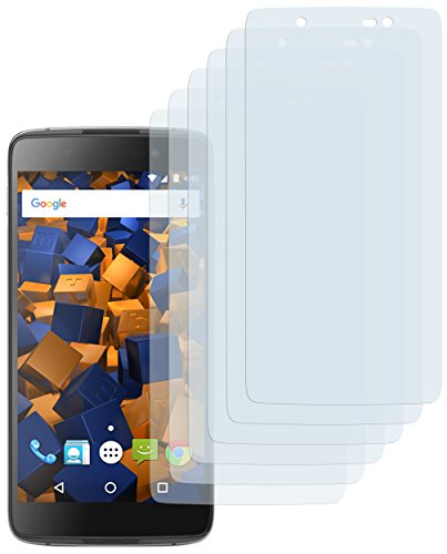 mumbi Schutzfolie kompatibel mit BlackBerry DTEK50 Folie klar, Bildschirmschutzfolie (6X)