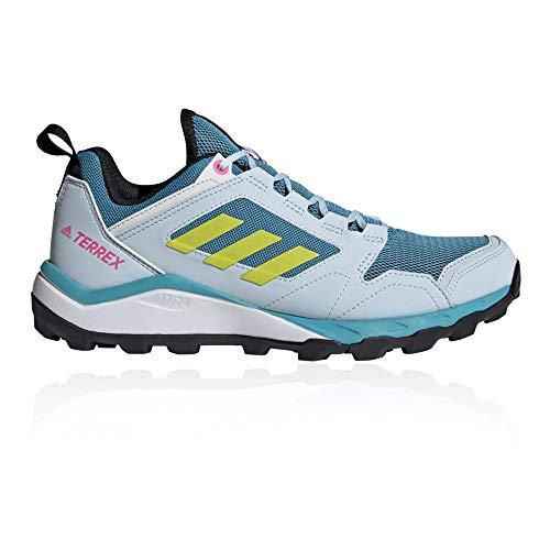 adidas Terrex Agravic TR W, Zapatillas de Trail Running Mujer, AZUBRU/AMAACI/Balcri, 41 1/3 EU