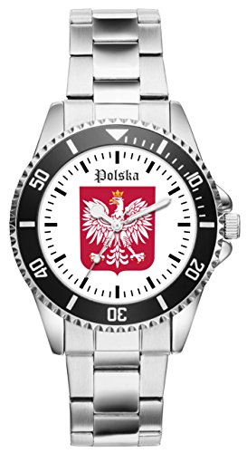 Polen Geschenk Artikel Idee Fan Uhr 1118