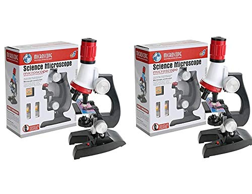 FunBlast Science Microscope Educational Toy Real Working Microscope for Kids (Pack of 2)
