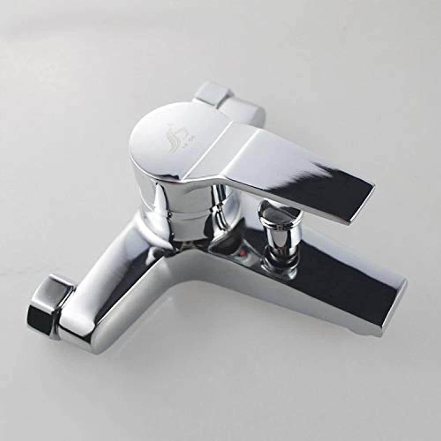 CFHJN HOME Taps Zinc Alloy Shower Faucet???Concealed Mixing Valve Bathtub Hot And Cold Shower Faucet