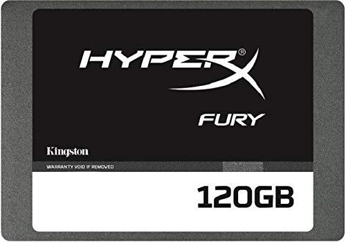 """Kingston HyperX Fury 117280 - Disco duro SSD (120 GB, 2,5"""", SATA-III, 6 Gb/s, SHFS37A/120G)"""