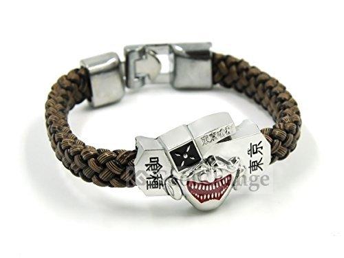 CoolChange Tokyo Ghoul Armband geflochten mit Maske von Ken Kaneki