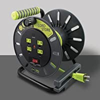 MasterPlug 3ft Heavy Duty Extension Cord Reels
