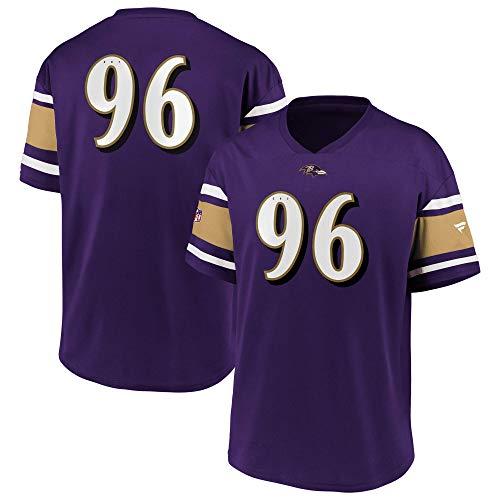 Fanatics Baltimore Ravens T-Shirt Jersey Fanshirt Supporter American Football Lila - M
