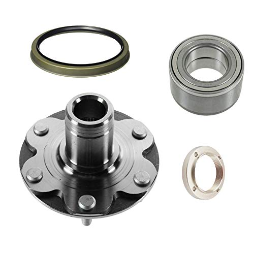 Front Wheel Hub Wheel Bearing Kit Left or Right For 2WD Only. Will NOT Fit 4WD With Seal 7105712WD Compatible with 4Runner 4 Runner Sequoia Tundra Tacoma