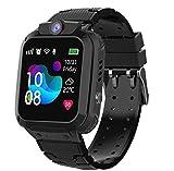 Winnes Smartwatch per bambini, IP67, impermeabile, con 2 vie, chiamata LBS...
