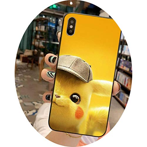 Cute Pikachue Phone Case for iPhone 12 Pro MAX Mini 11 Pro XS MAX 8 7 6 6S Plus X 5S SE 2020 XR Case,a9,For iPhone SE 2020