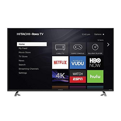 """Hitachi 50"""" Class 4K UHD Roku Smart LED TV - 50R8"""
