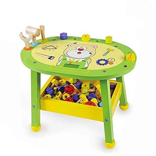 Zelt, Kinderspielzeug Handwerkzeuge Spielzeug Werkbank- und Kinderwerkzeugsätze Kindertechnik Lernen Werkbanktische aus Holz So tun als ob Spielzeugsätze Spielzeug Multitools-Center Beste Geburtstagsg