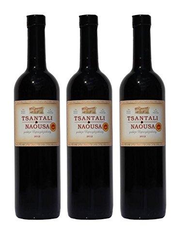 3x Tsantali Naousa Rotwein Naoussa trocken je 750ml + 1 Probier Sachet Olivenöl aus Kreta a 10 ml - griechischer roter Wein Rotwein Griechenland Wein Spar Set