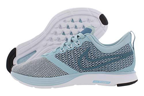 Nike Women's Zoom Strike Ocean Bliss/Noise Aqua Black Ankle-High Running Shoe - 9M