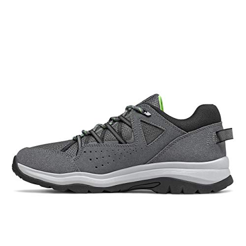 New Balance Men's 669 V2 Walking Shoe, Lead/Black, 11.5