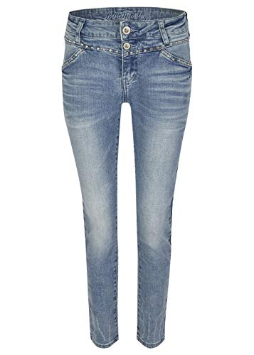 Blue Monkey Damen Jeans Hose Sandy