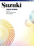 Suzuki Violin School Piano Accompaniment, Volume 5 (Revised)
