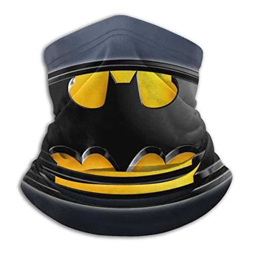 Bat-Super Hero 3D Bandana Shield Scarf Balaclava Scarves Neck Gaiter Bandanas for Men Women