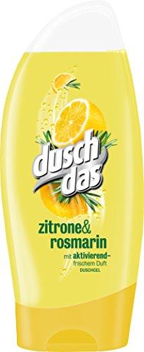 Duschdas Duschgel Zitrone & Rosmarin, 6er Pack (6x 250 ml)