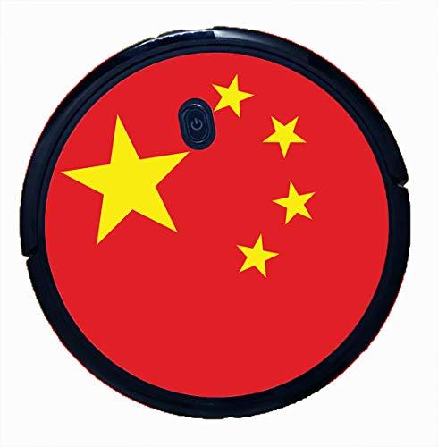 Aufkleber für Eufy Boost IQ RoboVac 11S (Slim) Staubsauger einfach anzubringen Chinese Flag