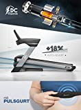 """Sportstech F75 High-End Laufband mit großer Lauffläche 580x1600mm, Android 15,6"""" Display, bis zu 20km/h und 5PS, WiFi, USB, MP3, 18% Steigung mit Dämpfungssystem bis 200Kg - Robust und klappbar"""