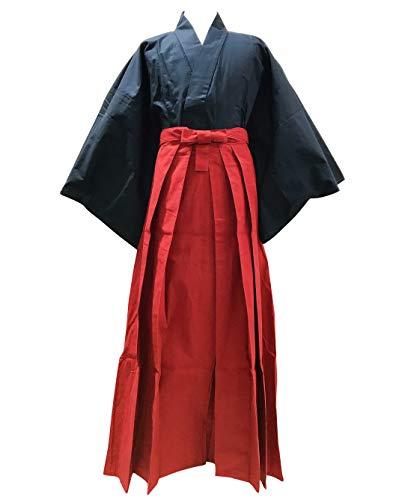 Edoten Japanese Samurai Hakama Uniform NV-RD M