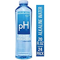 24-Pack  Perfect Hydration Alkaline Electrolyte Enhanced Water, 9.5+ pH