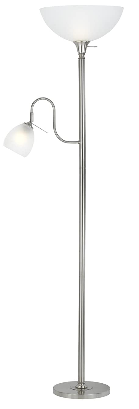 Cal Lighting BO-2054-BS Two Light Torchiere