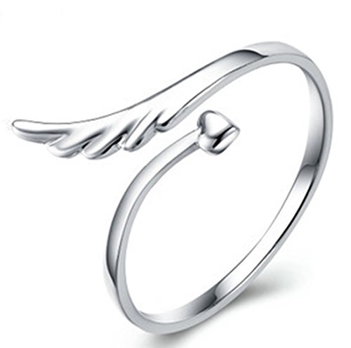 Joyería Revenne con cristales de Swarovski Fashion alas diseño de ángel anillo S17