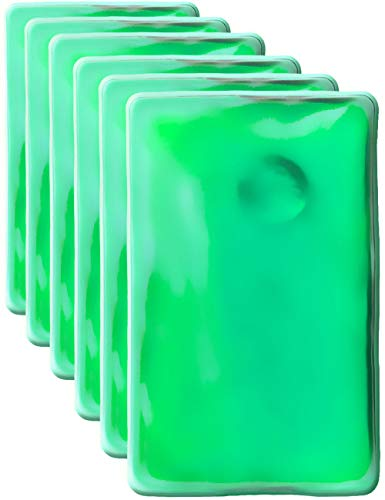 HomeTools.eu® - Juego de 6 cojines térmicos de gel, calentadores de manos,...