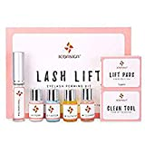 Iswell Eyelash Lift Kit, Eyelash Perm Kit Professional Eyelash Lash Extensions Lash Salon Beauty Perm Lotion Semi-Permanente Curling Perming Wave Adecuado para salón