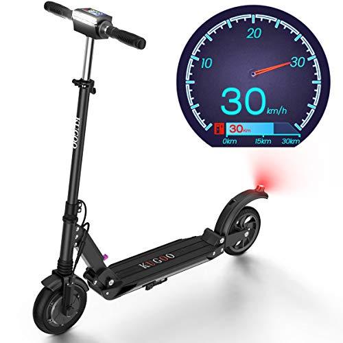 urbetter Monopattino Elettrico, 30 Km di Autonomia, velocità Fino a 30 Km/h, 350W Scooter Elettrico Pieghevole Unisex Adulto...