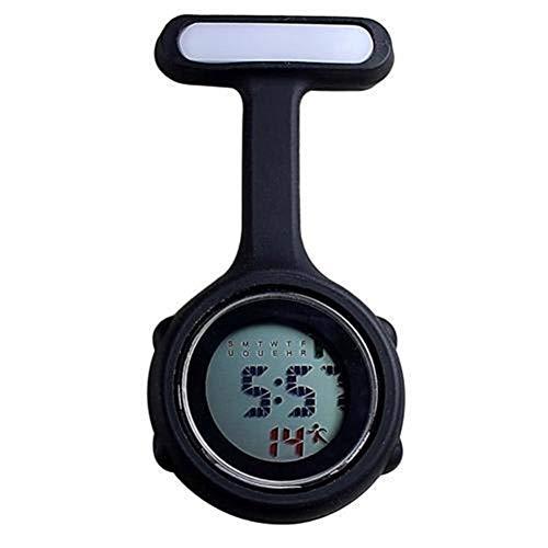 Reloj de bolsillo con broche Bolsillos de pantalla digital reloj de manera...