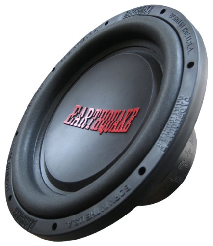 Earthquake Sound Tremor-X124 12-inch Car Subwoofer, 1250 Watts