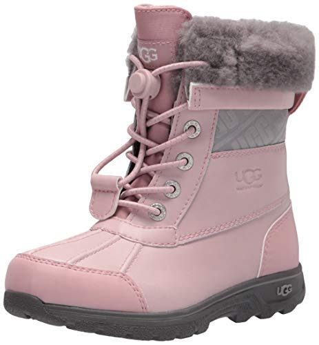 UGG unisex child Butte Ii Cwr Ugg Snow Boot, Pink Crystal, 11 Little Kid US