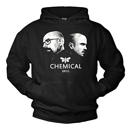 Pull Swag Breaking Bad Sweat a Capuche Noir - Chemical Bros Taille L