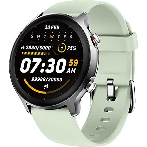 LIFEBEE Smartwatch, Orologio Fitness Tracker Uomo Donna Impermeabile 5ATM Saturimetro(SpO2) Cardiofrequenzimetro da Polso Sonno salute delle donne, Activity Tracker Previsioni Meteo per Android iOS