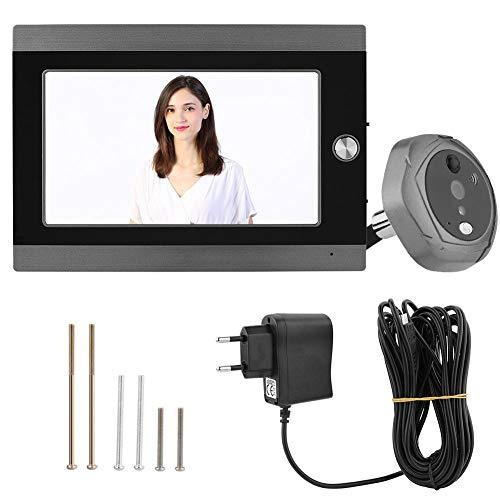 Garsent Video deurintercom, draadloze deurbel met 7 inch monitor, ondersteuning van bewegingsdetectie en app-bediening, automatische snapshot/opopname