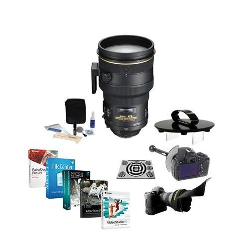 Nikon 200mm f/2G IF-ED AF-S NIKKOR VR II Lens