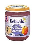Bebivita Dessert Nach Art Apfel-Blaubeer-Muffin, 6er Pack (6 x 160 g) -