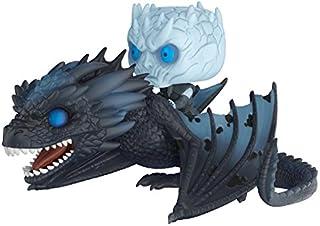 Funko Pop! Rides: Figura coleccionable de Juego de Tronos, rey nocturno sobre dragón