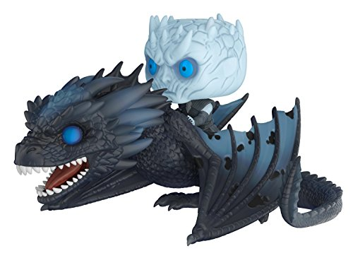 Funko Pop!-28671 Night King & Icy Viserion Rides: Game of Thrones: Viserion & Night King, Multicolor, Talla Única