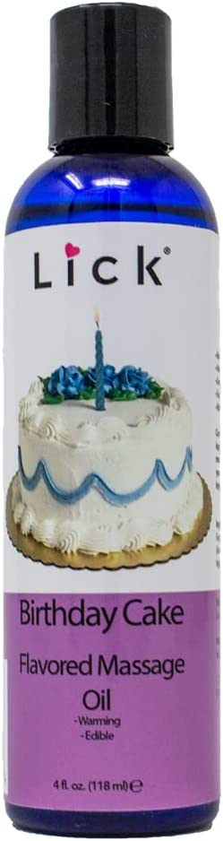 Max 45% OFF Birthday Cake Flavored Choice Massage Oil Relaxin for Therapy -