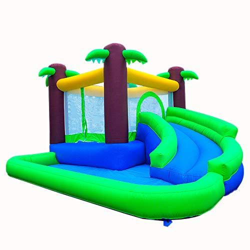 Ballsea Castillo Hinchable, Grande al Aire Libre Equipo de la diversión, 343 x 324x 180cm Aplicar para Castillo Infantil Juego Niño de 3 a 12 Años (PVC)