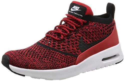Nike - W Air Max Thea Ultra FK - 881175601 - Color: Negro-Rojo - Size: 38.0