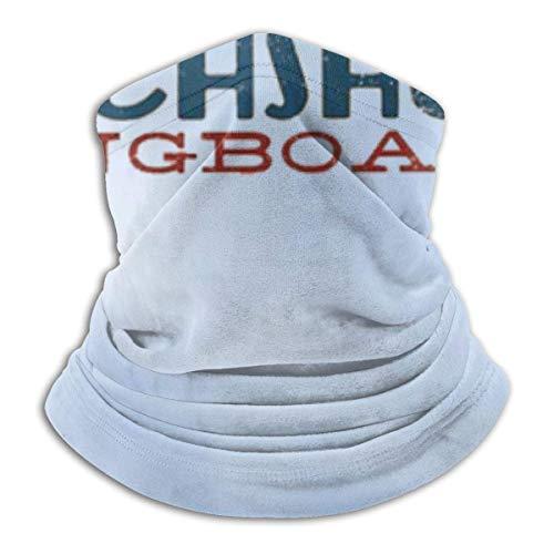 JaOUIY Lustige Daschund Hund Skateboard Kopfbedeckung Bandana Neck Gaiter Kopfbedeckung Sturmhaube Gesichtsmaske Staub Winddicht für Camping Camping im Freien