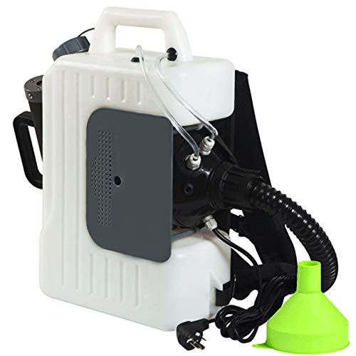 INMAKER Disinfectant Fogger Machine, Electric Backpack ULV Sprayer, 2 Pcs 2.6Gal Atomizer Fogger
