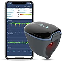 Wellue O2Ring Wearable Bluetooth Health Tracker with Free App and PC Software