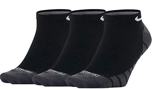 Nike U NK EVERYDAY MAX LTWT NS 3PR Socks, black/anthracite/White, M