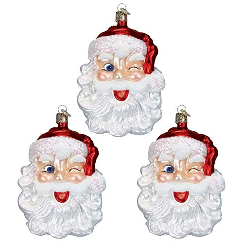 VEFSU 2020Large Christmas Tree Santa Claus Ornaments Xmas Christmas Tree Decorations Party Home Decor Personalized Big Beard (3 PCS) C