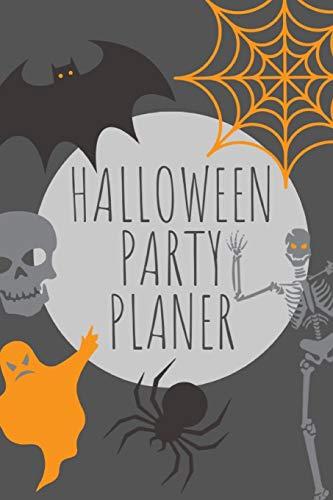 Halloween Partyplaner: Notizbuch für die Planung deiner Halloweenparty