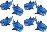 U.S. Toy Shark Water Squirter Pool Beach Bath Toys - Pack of 12